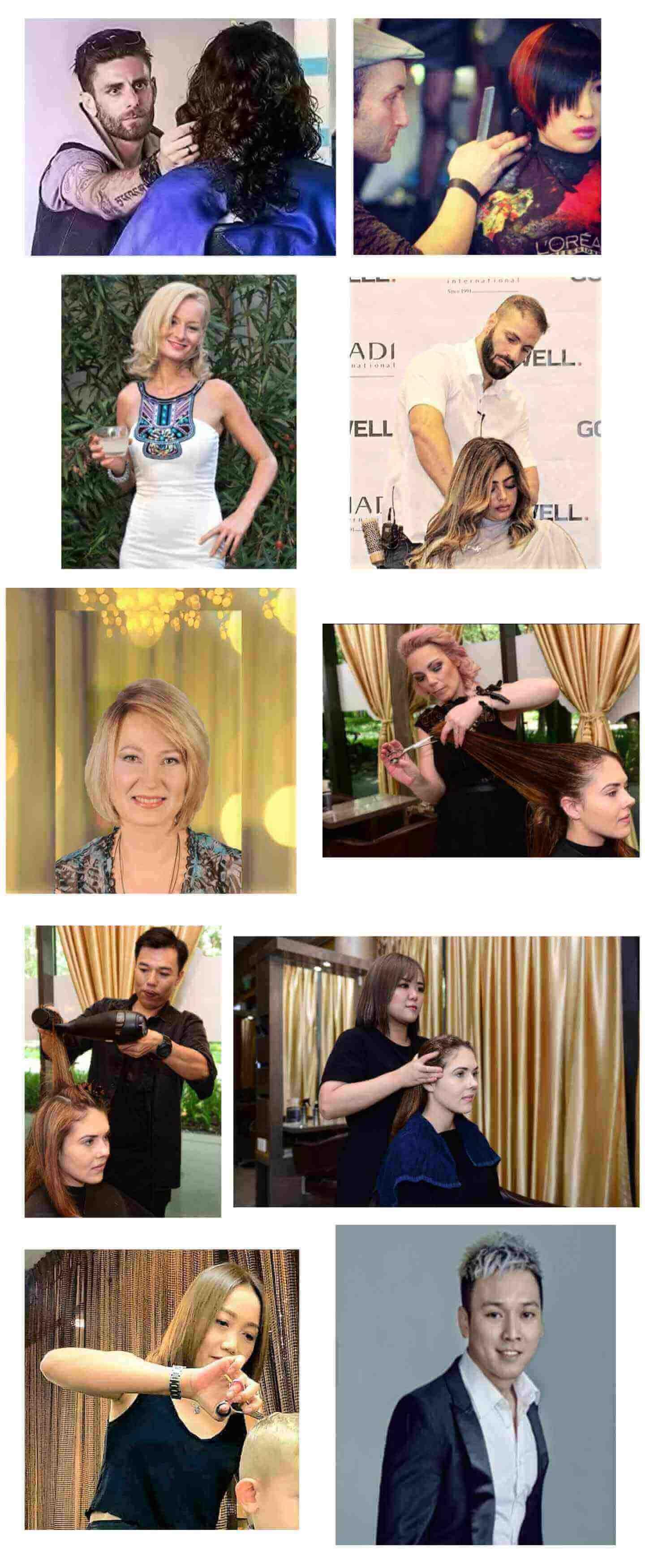 hairdresser singapore