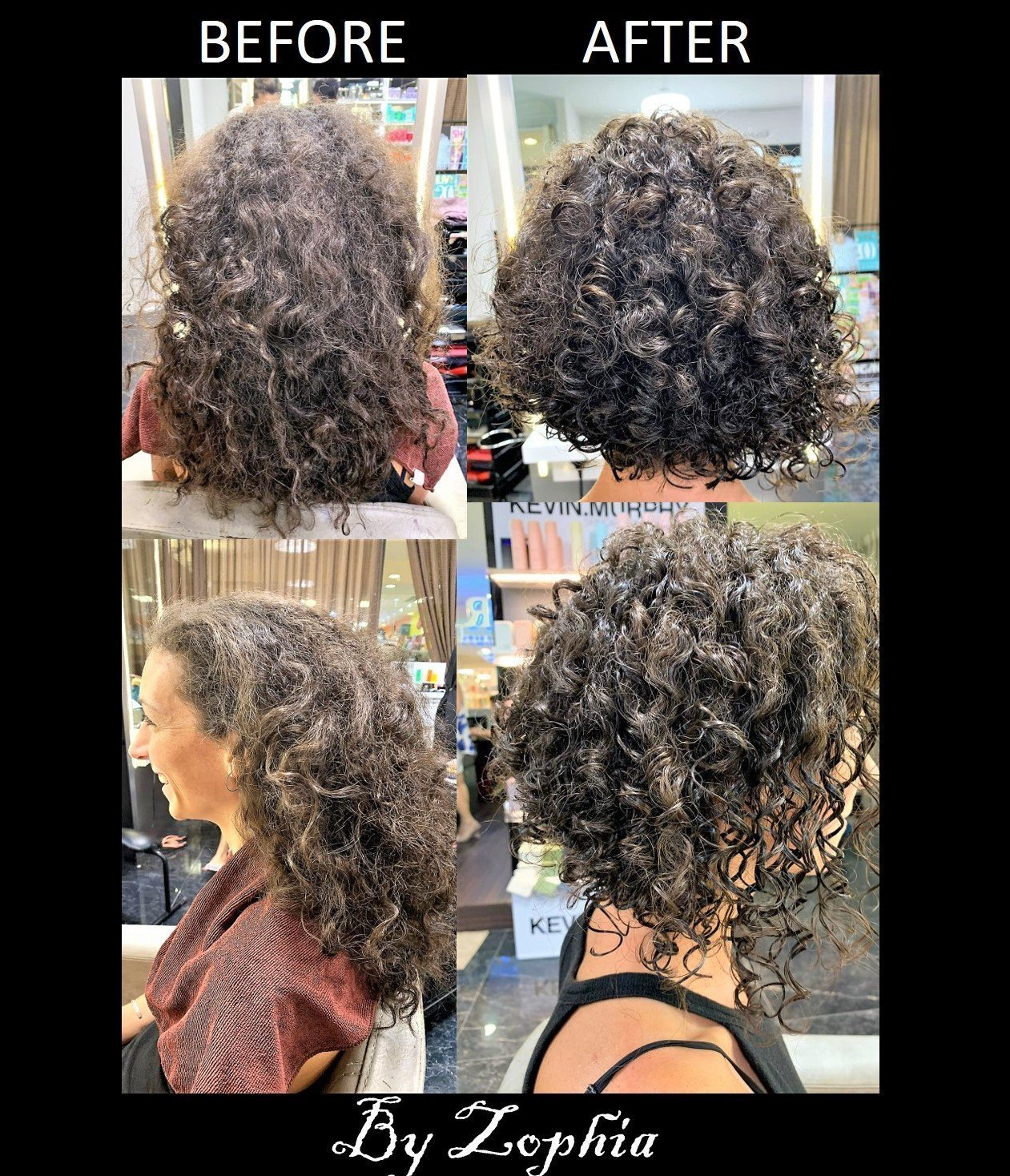 curly hair cut Singapore