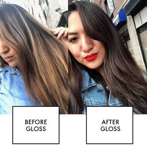 hair gloss