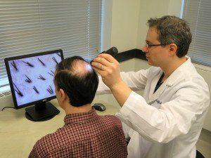 trichologist diagnose
