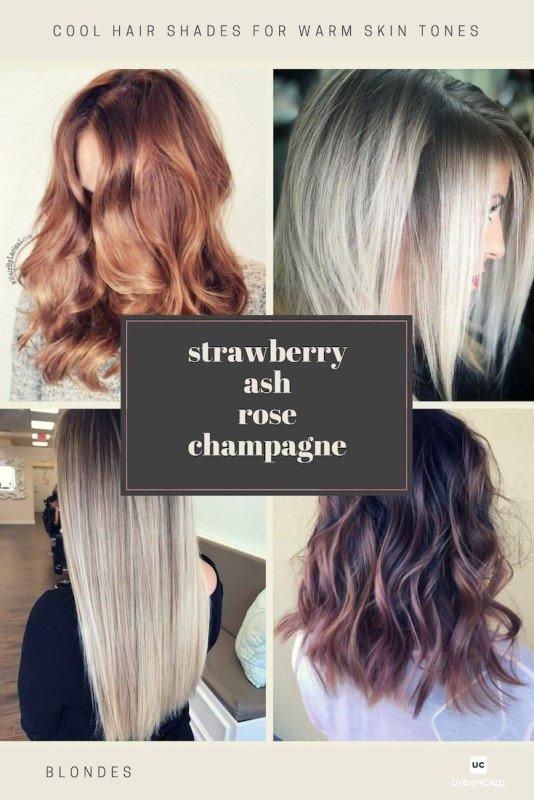 Cool hair colours for blonde hair