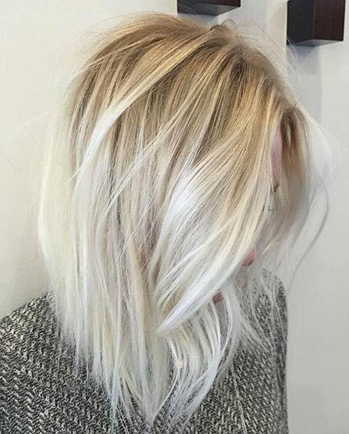 creamy blonde balayage