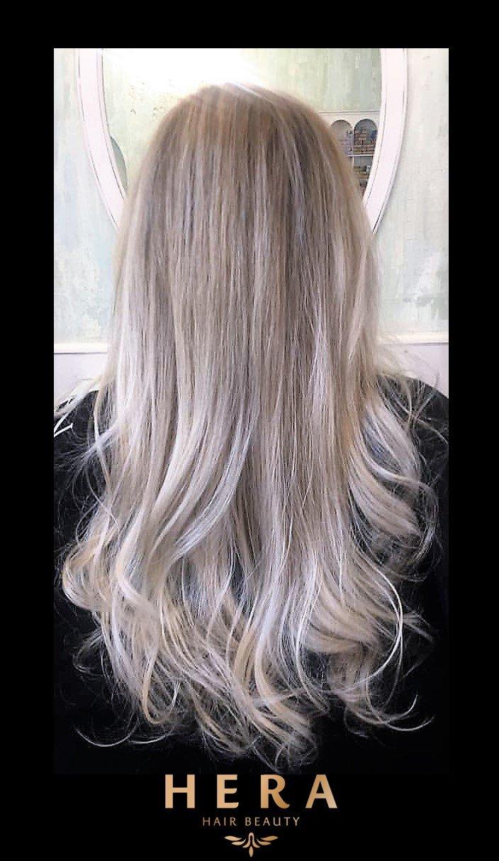 ash grey hair colour