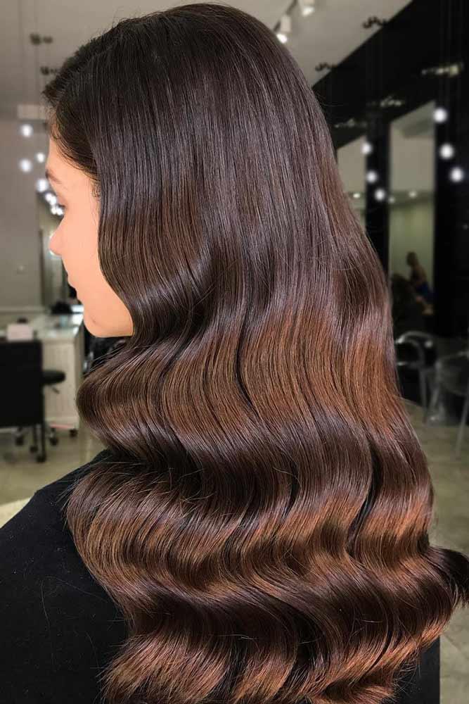 brunette-hair-ideas-wavy-chocolate-brown-long-sleek
