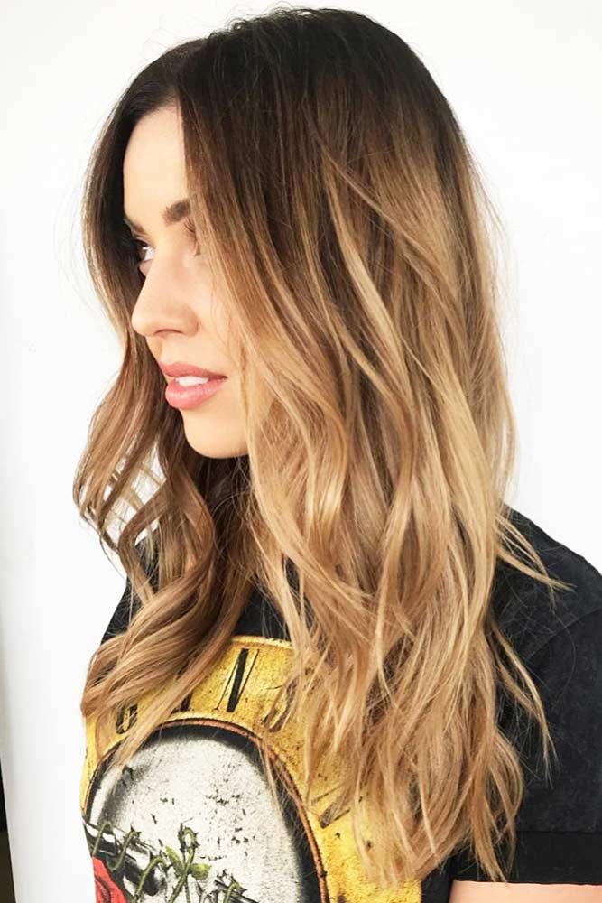 dark-blonde-hair-color-ideas-black-wavy-ombre