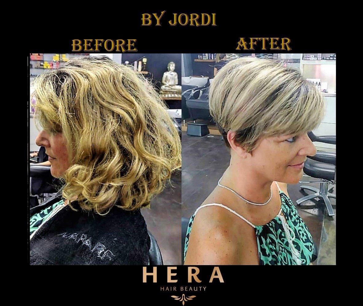 best hair stylist for short hair