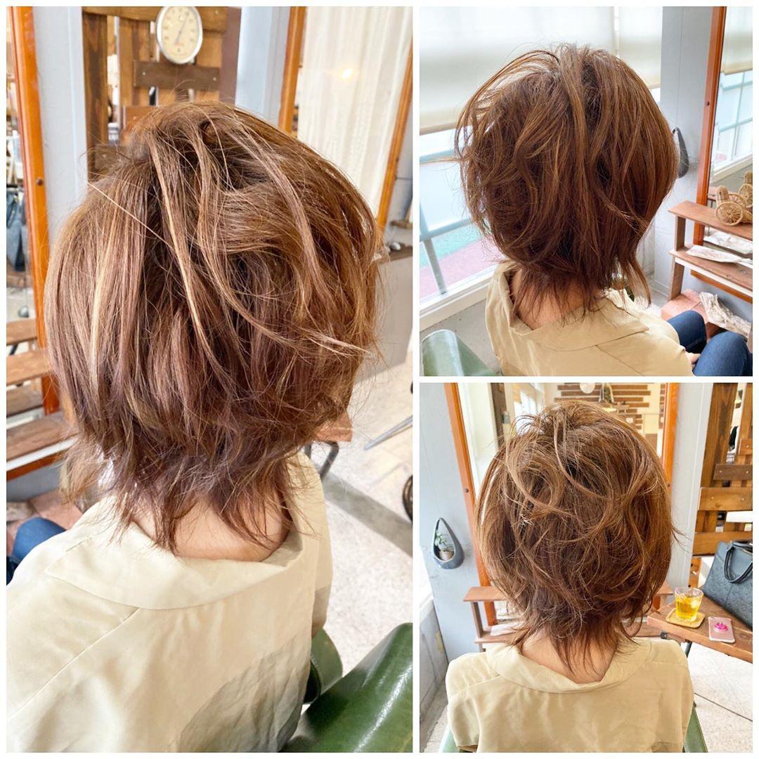 Trendy Bob layered haircut
