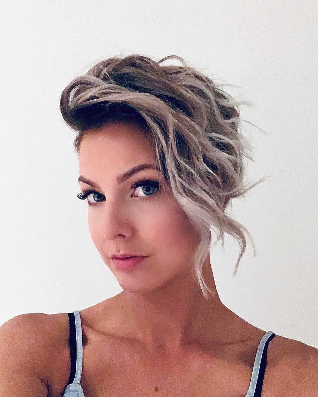 Wavy Pixie Haircut with Long Layered Hair