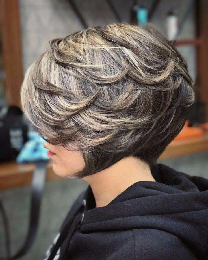 Wisp Bob haircut with layers