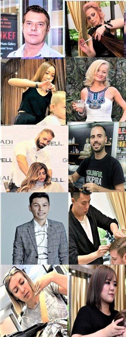 best expat hair salon singapore