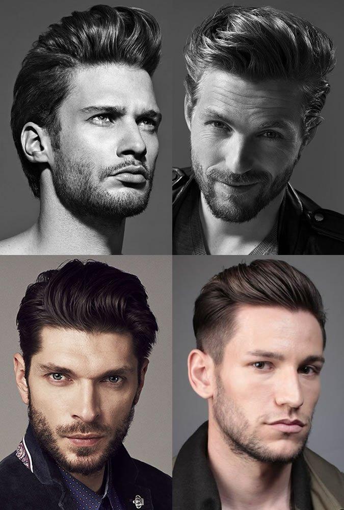 Men's Pompadour Hairstyles