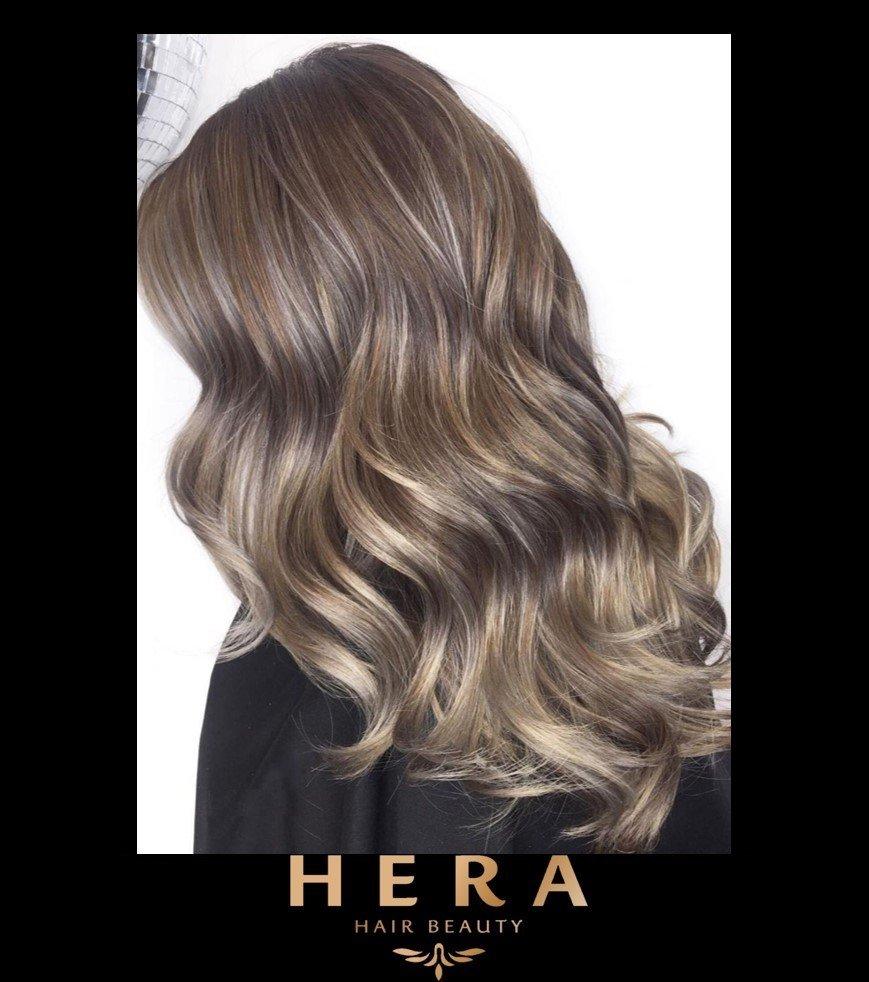 Silver Brownish Hair