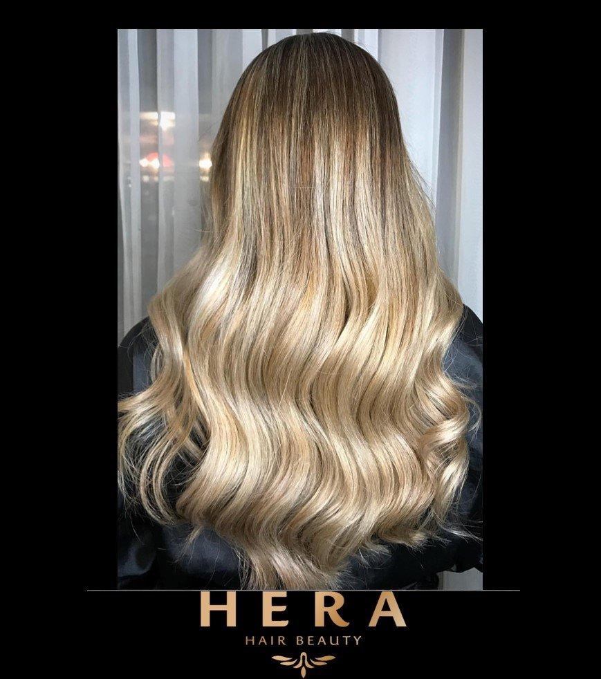 Golden Ash Blonde Hair