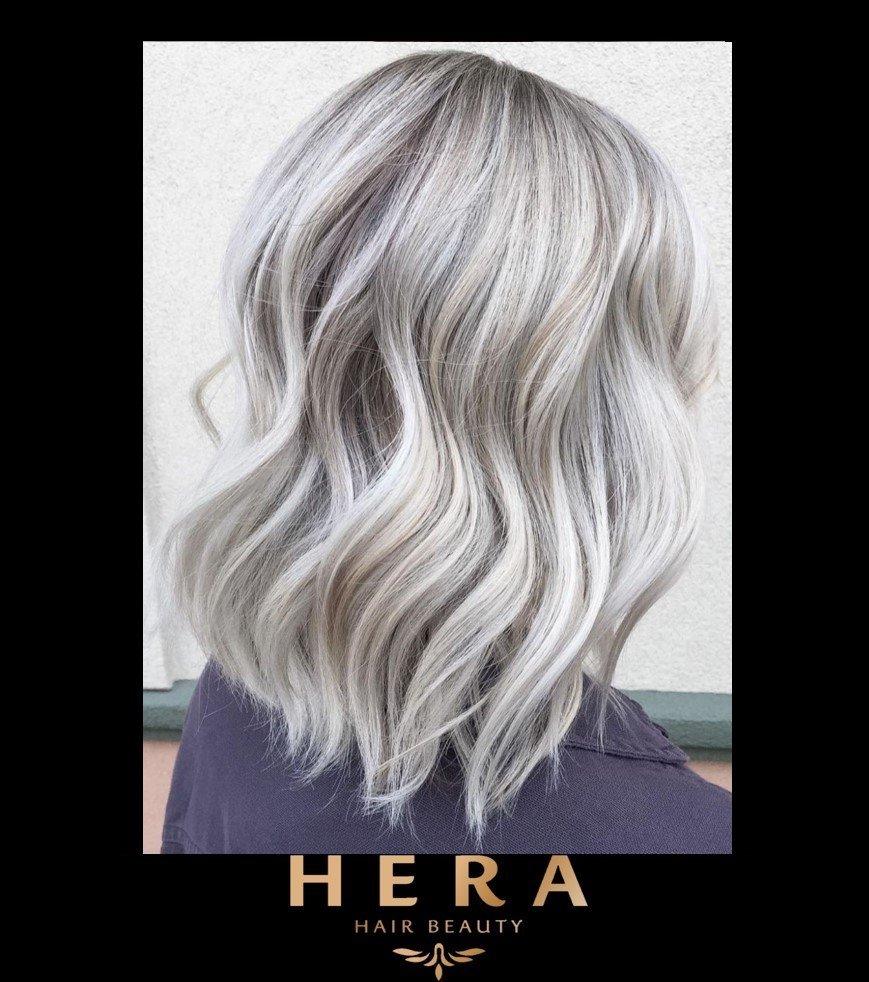 Ice Grey Silver Hair