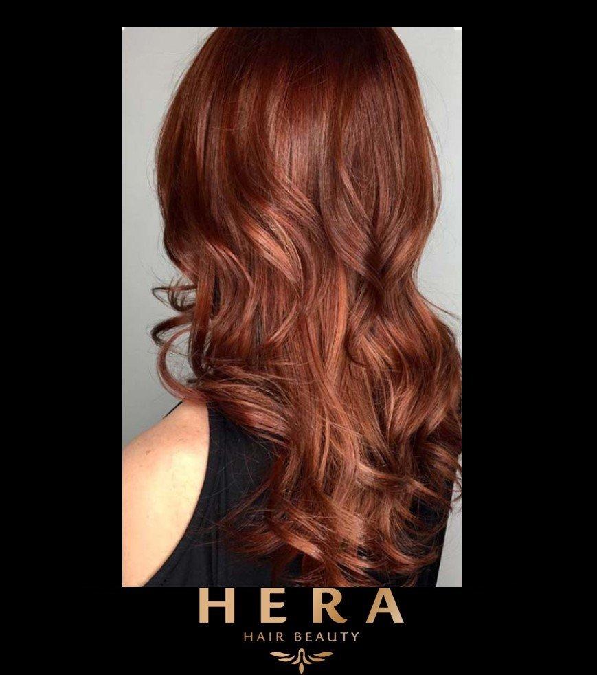Red Brown Hair