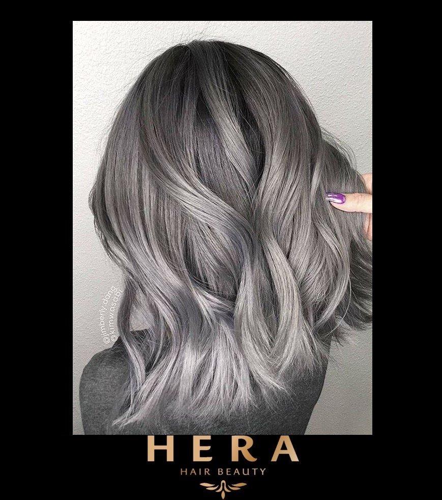 Silver Hair Grey