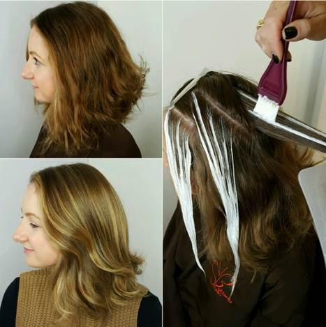 Image result for balayage techniques