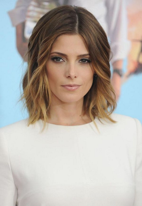 Ombre Hair And Lob Cut