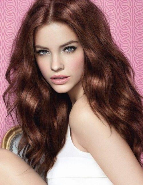 Mahogany Light brown Hair Colour