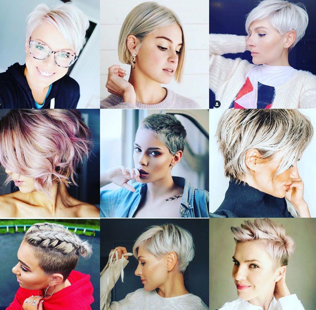 short haircut for women inspiration