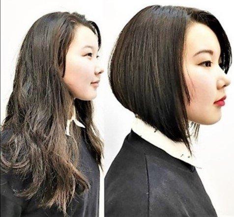 Long hair to stunning pixie hair transformation