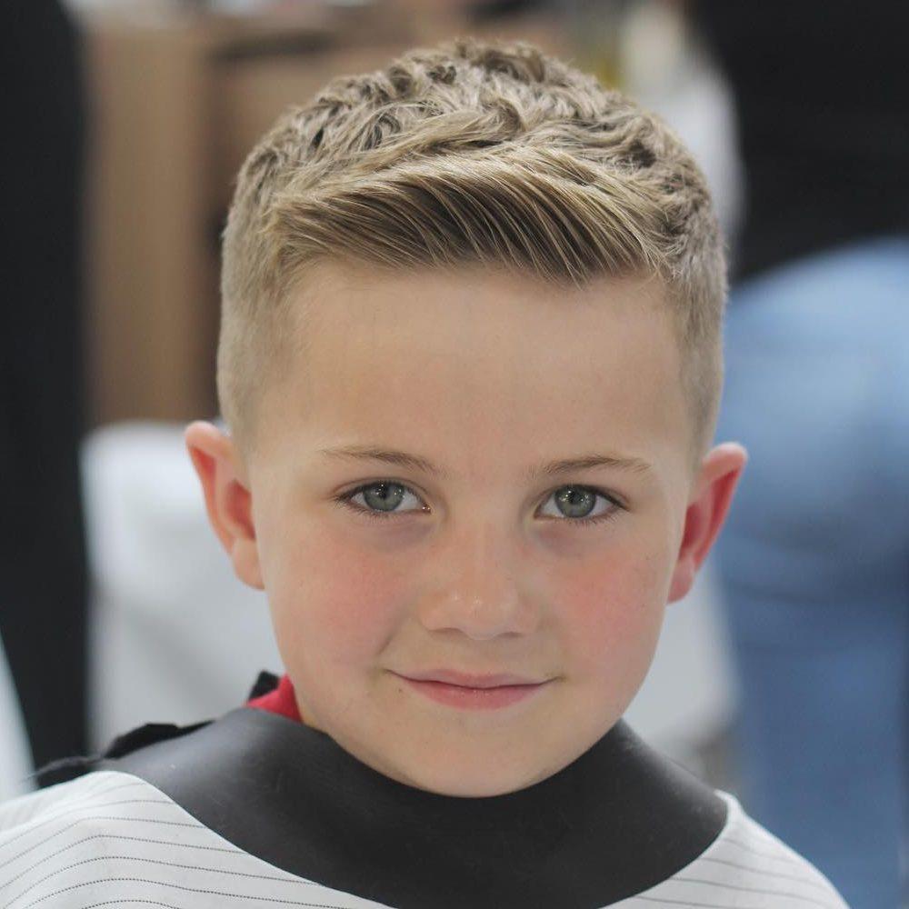 3. Classic Teen Boy Haircut