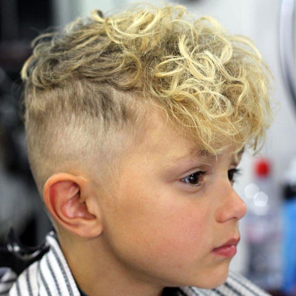 4. Curly Fringe Hair