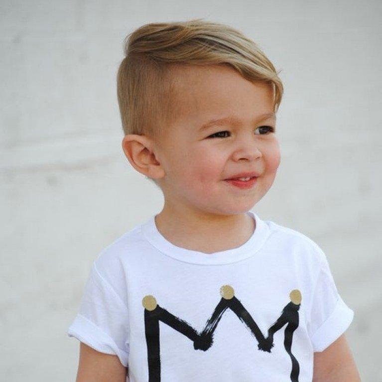 5. Side Swept Toddler Boy Haircut