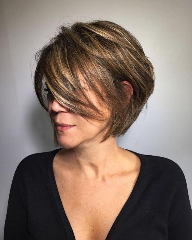 Modern Short Bob Haircuts trend 2019