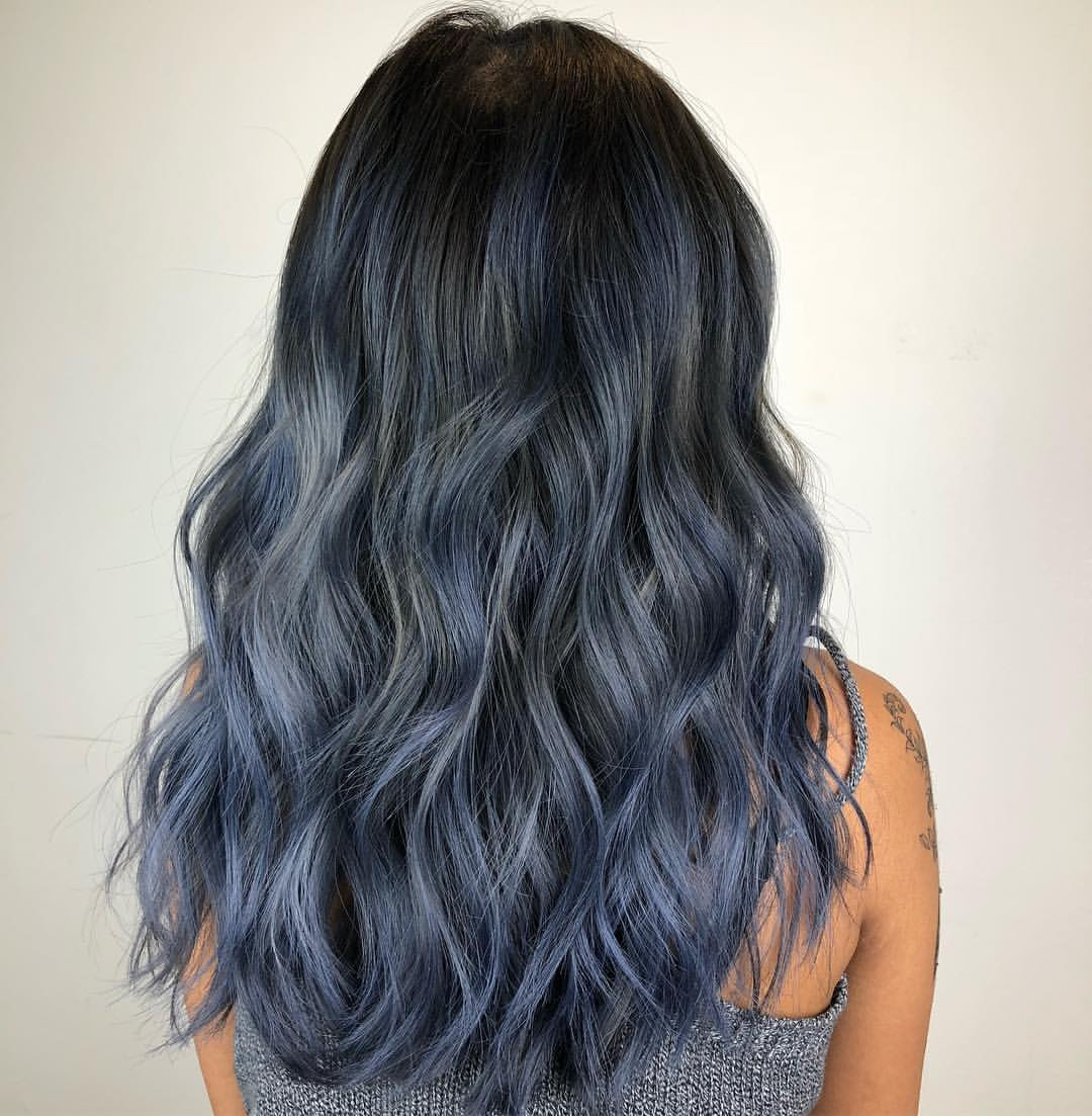 Ash Blue Hair