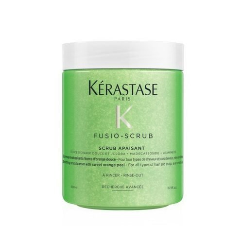 Kerastase Fusio Scrub Apaisant Soothing Scrub Cleanser with Sweet Orange Peel 500ml