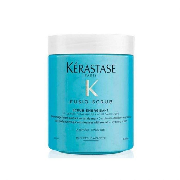 Kerastase Fusio Scrub Energisant Purifying Scrub Cleanser with Sea Salt 500ml
