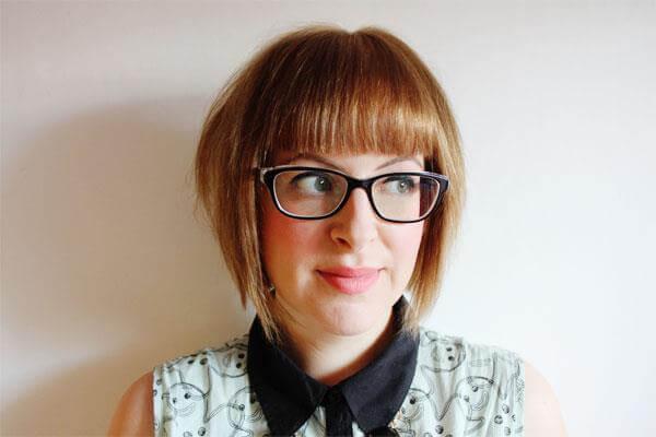 nerdy girl with bob haircut