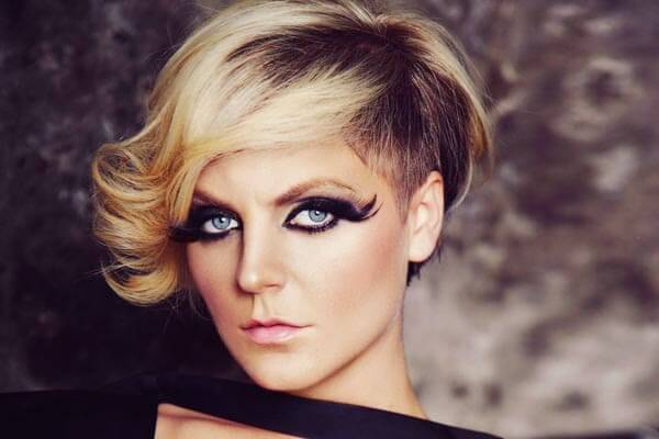 undercut and bob hairstyle