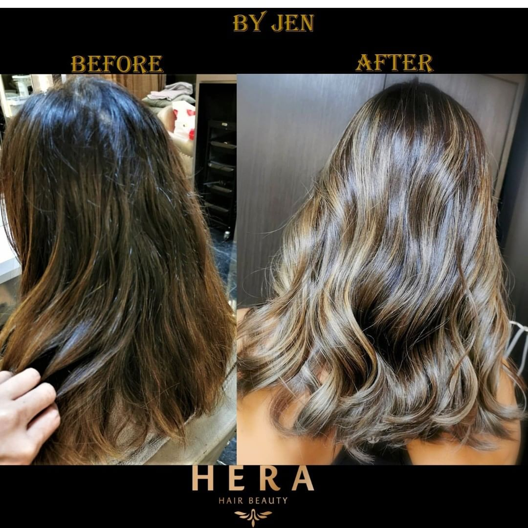 honey balayage singapore