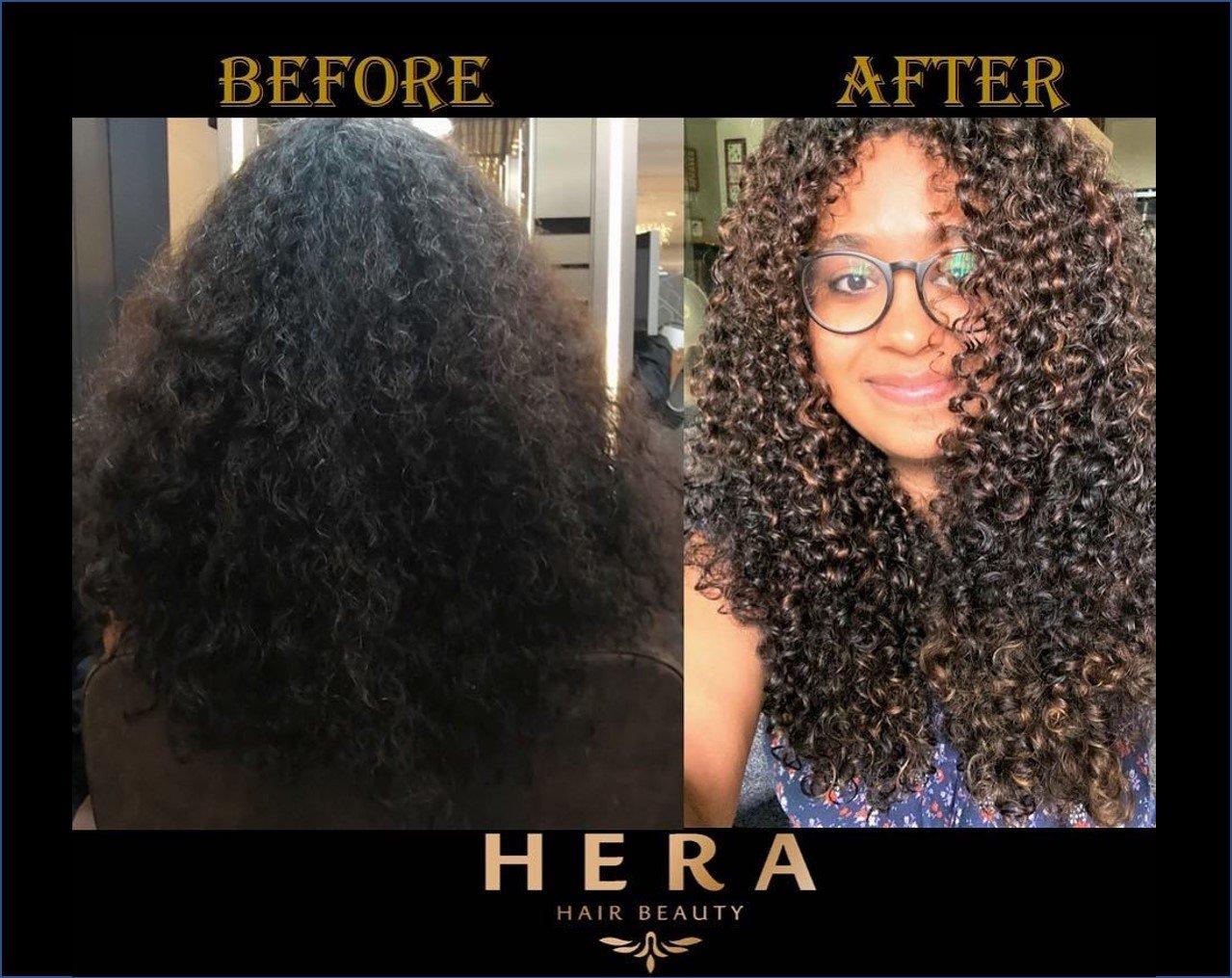 curly hair salon Singapore